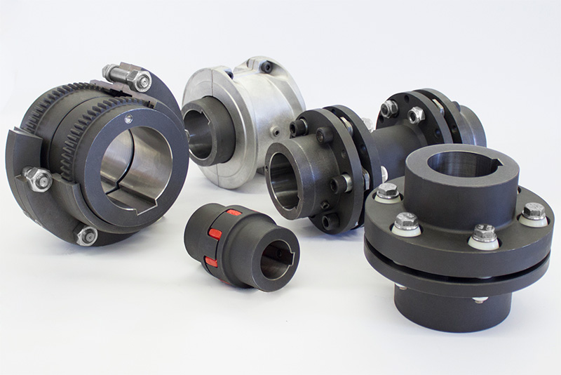 New shaft couplings